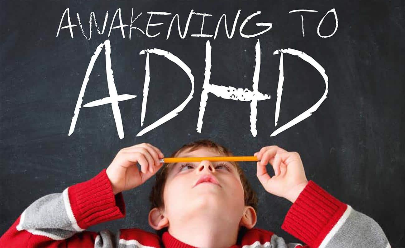 ADHD on blackboard