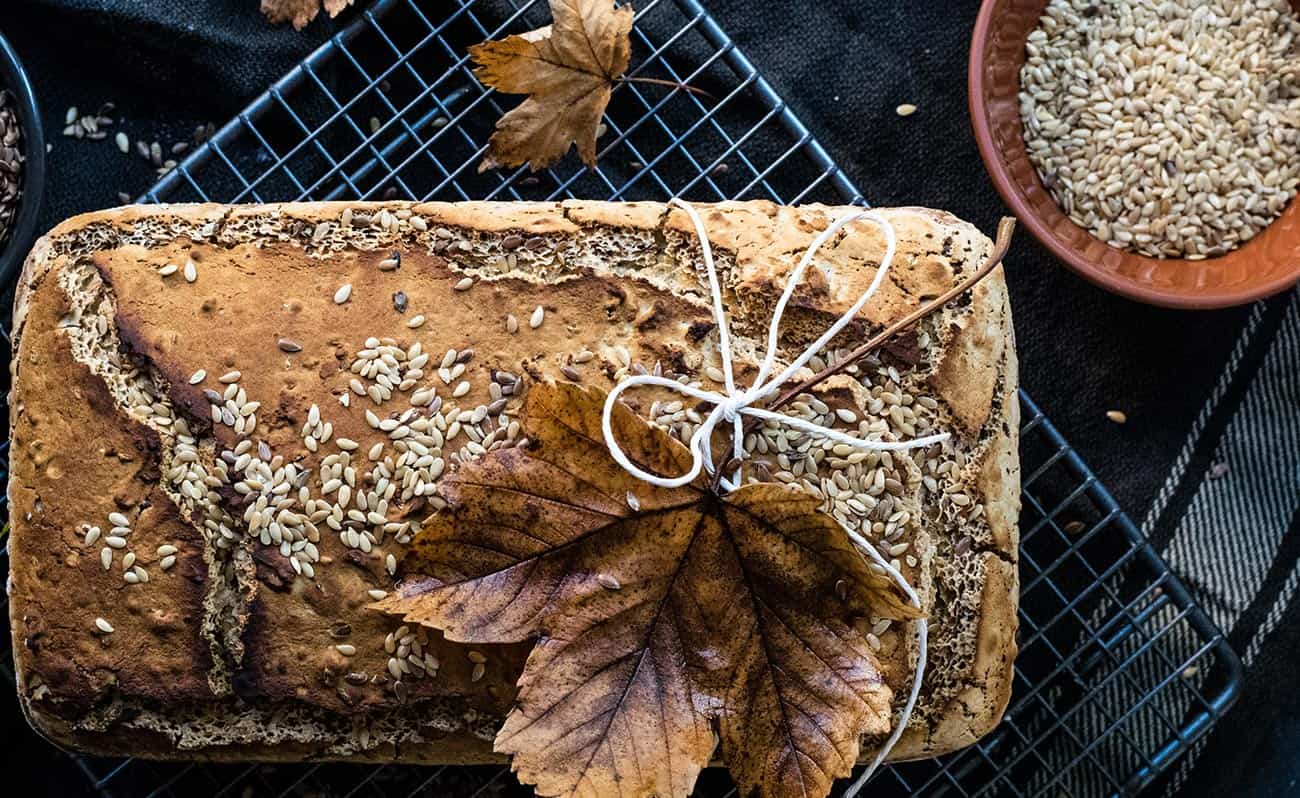 Gluten free seed loaf bread recipe
