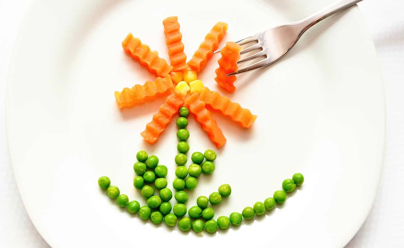Kids fun vegetables shapes