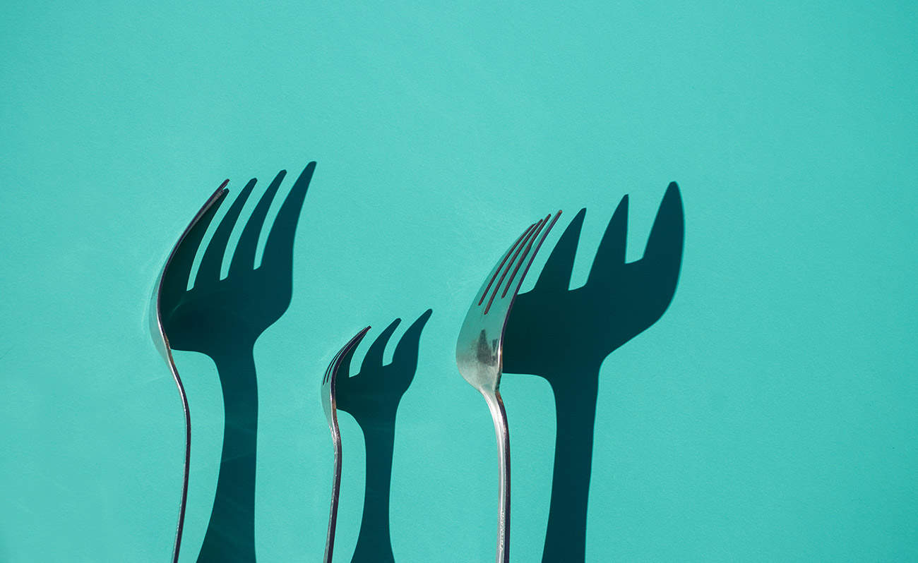 Fork shadows