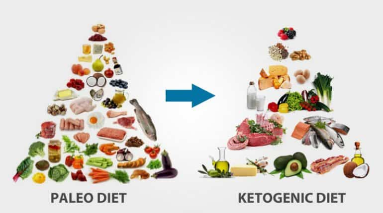 paleo diet vs keto diet